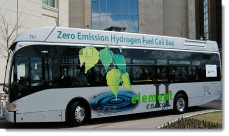 Hydrogen-powered buses highlighted in new EU report