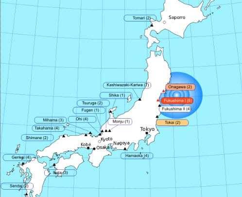 Japan announces abandonment of nuclear power