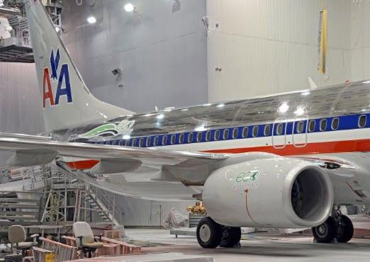 737-800 ecoDemonstrator hydrogen powered aircraft