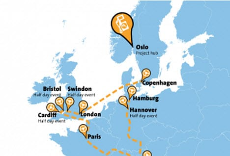 European Hydrogen Road Tour begins in Germany