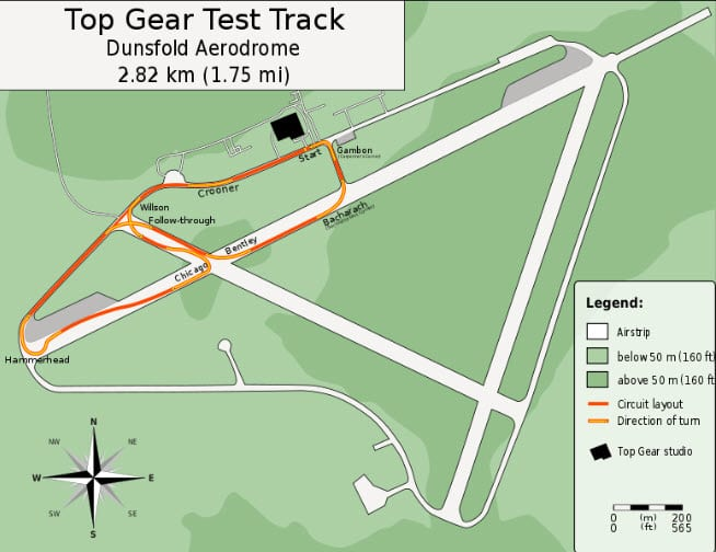 Top Gear test track goes solar