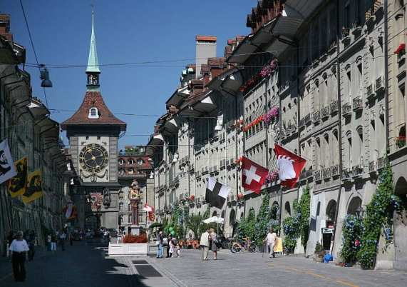 Bern Switzerland - Hydrogen powered street sweeper