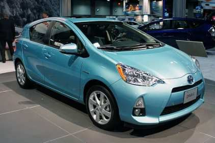 Toyota Prius electric vehicles