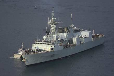 Canada Navy Ships Biofuels