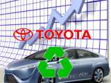 Toyota hydrogen fuel success