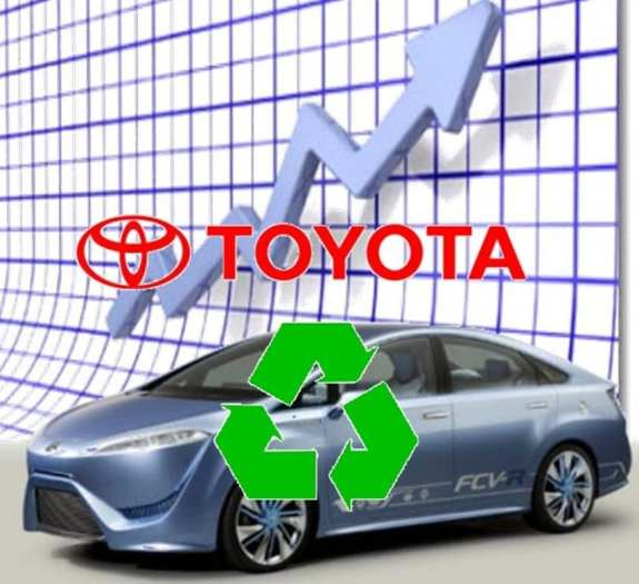 Toyota hydrogen fuel cells success