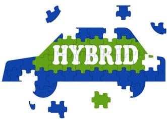 Electric hybrid cars