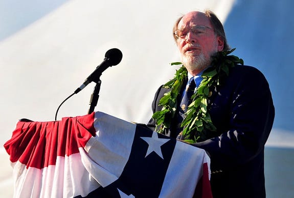 Geothermal energy - Hawaii Governor Neil Abercrombie