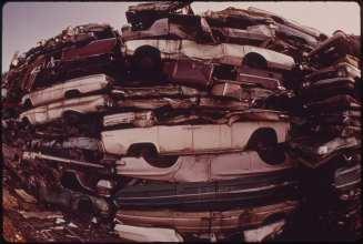 recycling technology - auto junkyard