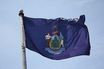 Solar Energy - Flag of Maine