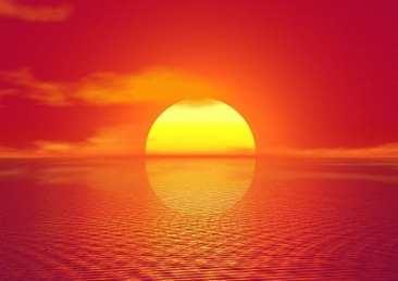 Solar Energy Market - Sunset in India