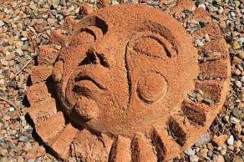Solar Energy New Mexico - Southewestern Art Sun Face