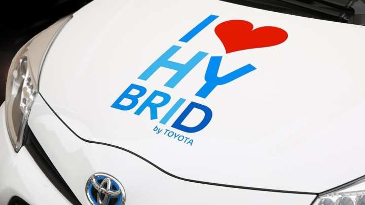 Toyota is experimenting with new types of hydrogen fuel cells