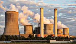 Coal Power Plant - Industiral Plant - Smoke