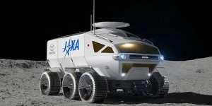 Toyota Hydrogen Moon Rover - Toyota Lunar Concept Rover Jaxa - concept image