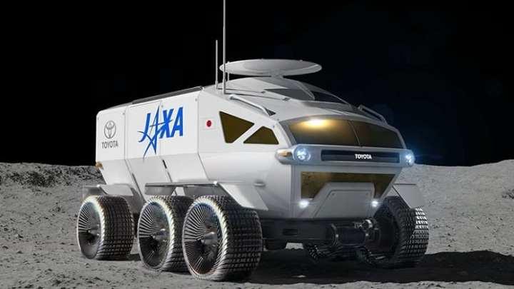 The Toyota hydrogen moon rover is no joke