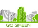 Green Apartment Building