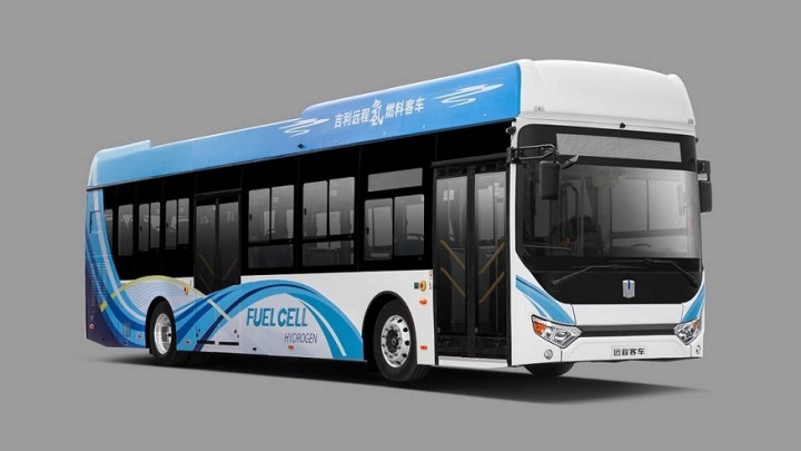 China-based GCV unveils its first commercial fuel cell city bus