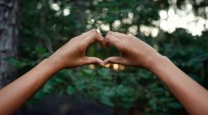 Latin America renewable energy goal - hands making heart