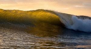 Tidal barriers - wave in ocean