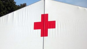 H2 emergency vehicle - Disaster Relief - Red Cross Tent