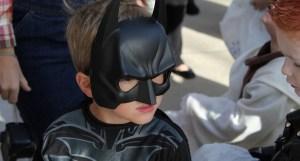 Halloween Trash - Child in Costume