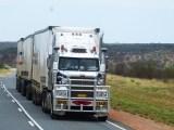 fuel cell heavy duty truck - truck on road