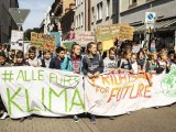 climate action - students protesting