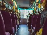 Hydrogen fuel transit - People sitting on bus