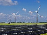 Power from renewbles - wind and solar energy