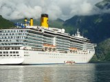 Liquid hydrogen fuel cell - Norway cruise ship