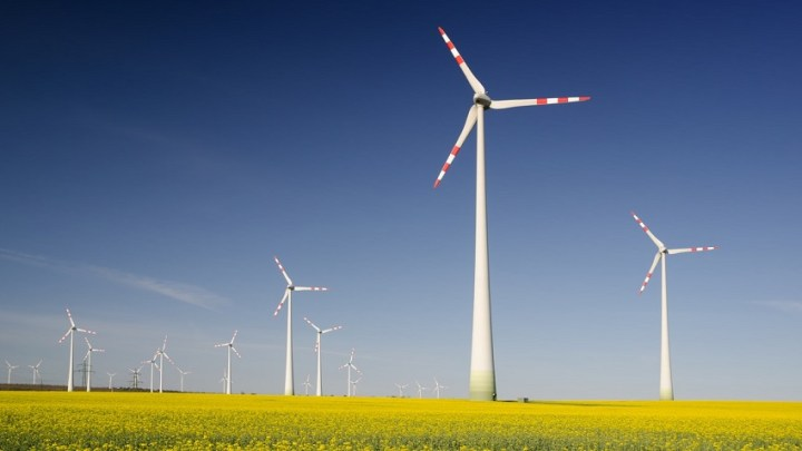 German wind energy brought the country to a new renewable power record last month