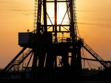 fracking industry - oil rig