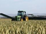 Hydrogen powered tractors - Man driving tractor