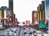 Hydrogen fueled cars - vehicles on road in China