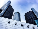 Hydrogen fuel passenger vehicles - General Motors head office