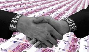 Clean hydrogen partnership - handshake - partnership - euros