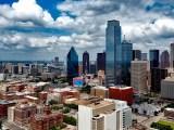 zero-emission hydrogen fuel cell - Dallas skyline