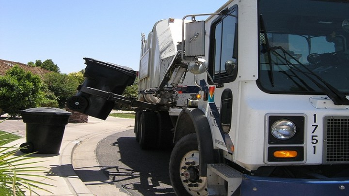 Hydrogen fuel cell garbage trucks hubs to use waste for power