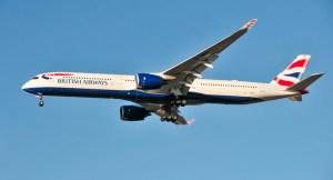 Hydrogen fuel aviation - British Airways plane