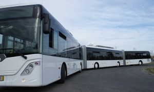 Hydrogen fuel cell bus prototype - prototype of a bus