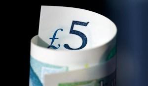 Hydrogen mobility - Funding - 5 British Pound Note