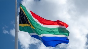 South African Green Hydrogen - South Africa Flag