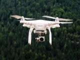 Commercial hydrogen fuel cell drone - Drone in flight