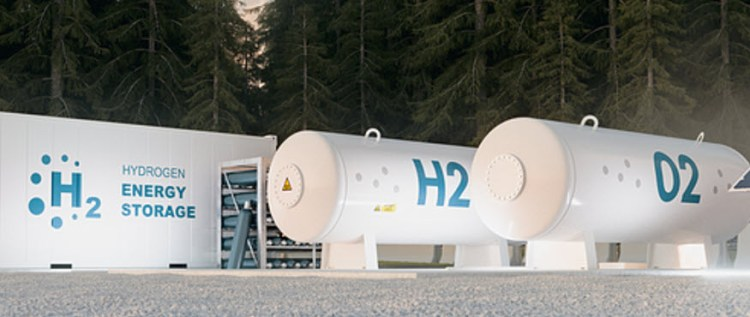 how hydrogen is made and stored