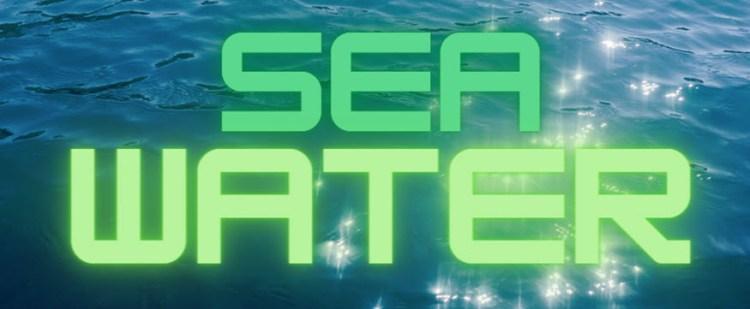 make hydrogen fuel from sea water