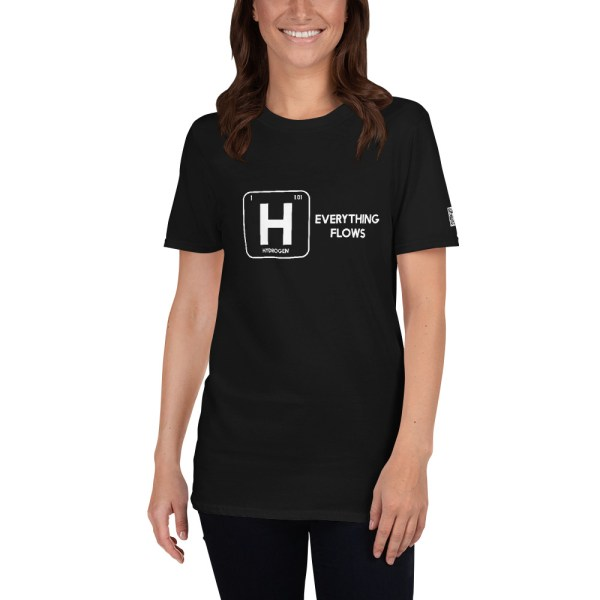 Hydrogen Everything Flows Short-Sleeve Unisex T-Shirt 29