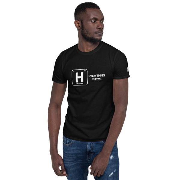 Hydrogen Everything Flows Short-Sleeve Unisex T-Shirt 32