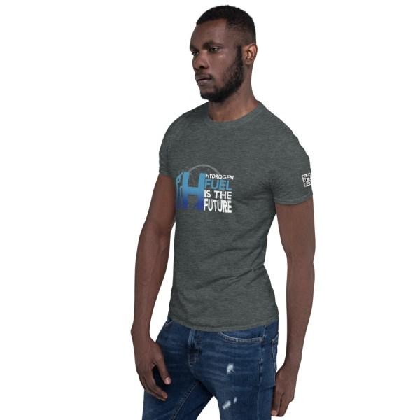 Hydrogen Future Short-Sleeve Unisex T-Shirt 19