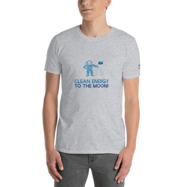Clean Energy To The Moon Short-Sleeve Unisex T-Shirt 13